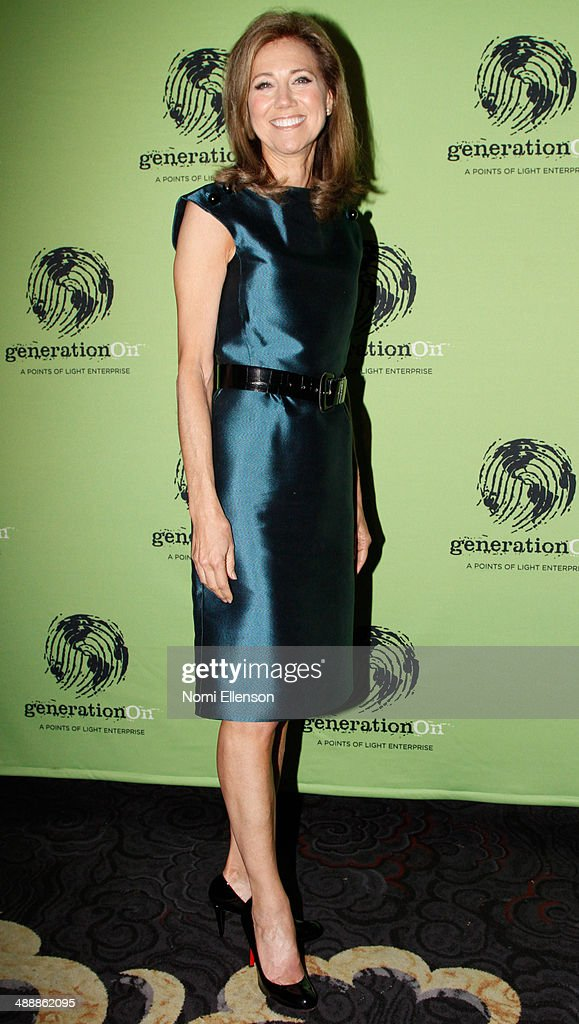 Silda Wall Spitzer attends the 2014 generationOn Benefit at Mandarin Oriental Hotel on May 8 2014 in New York City