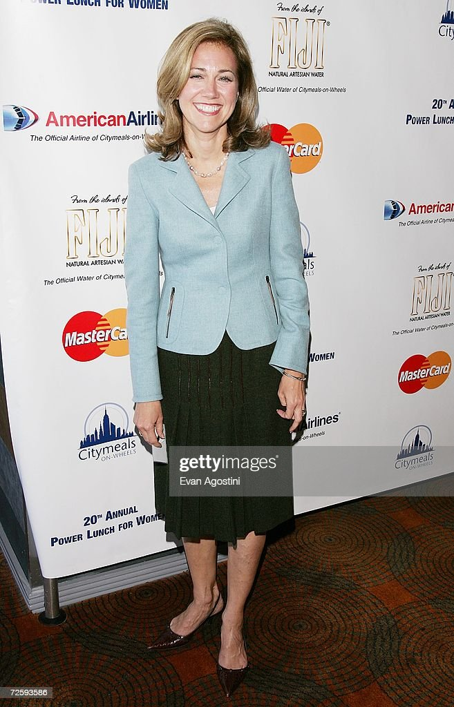 Silda Wall Spitzer attends the 20th Annual Power Lunch For Women To Benefit CitymealsOnWheels at the Rainbow Room at Rockefeller Center November 17...
