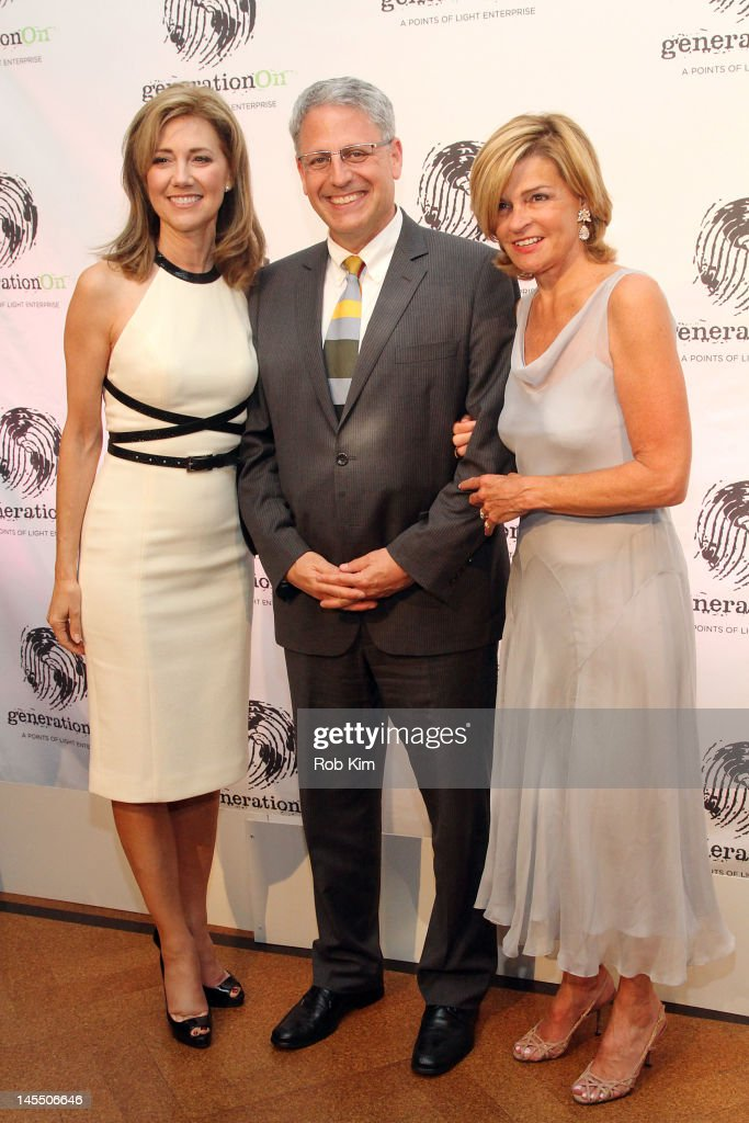 Silda Wall Spitzer Gary Knell and Kathy Lacey Hoge attend GenerationOn's Annual Benefit at 583 Park Avenue on May 31 2012 in New York City