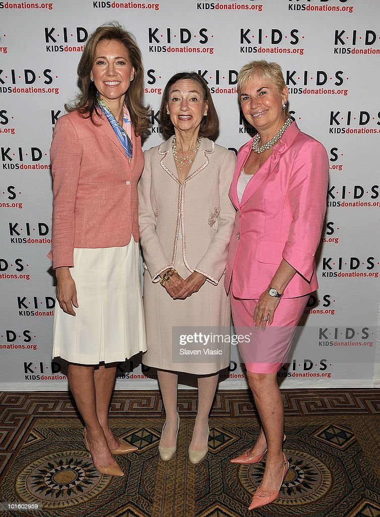 Silda Wall Spitzer KIDS President Janice Weinman and KIDS founder Karen Bromley attend the Kids in Distressed Situations luncheon at The Pierre Hotel...
