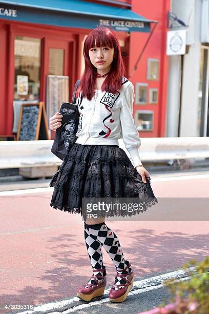 silence crew hold the celebration party at Tokyo Street Fashion at Harajuku on 15th April 2015 in Tokyo Japan