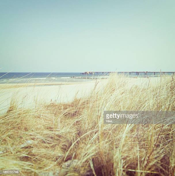 Silent beach at the Baltic Sea