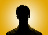 silhouette head two