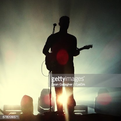 Guitarist On Stage Stock Photos and Pictures   Getty Images