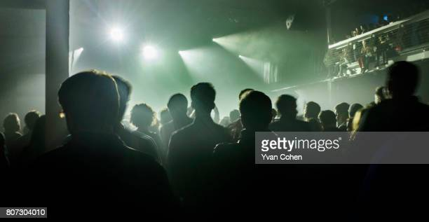 Silhouette of fans watching a concert at Terminal 5 in New York