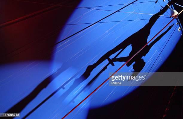Silhouetten im circus