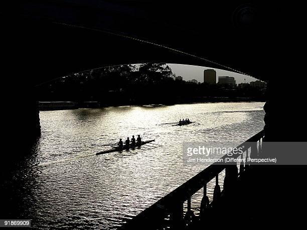 Silhouette,Victoria,Melbourne,Yarra River