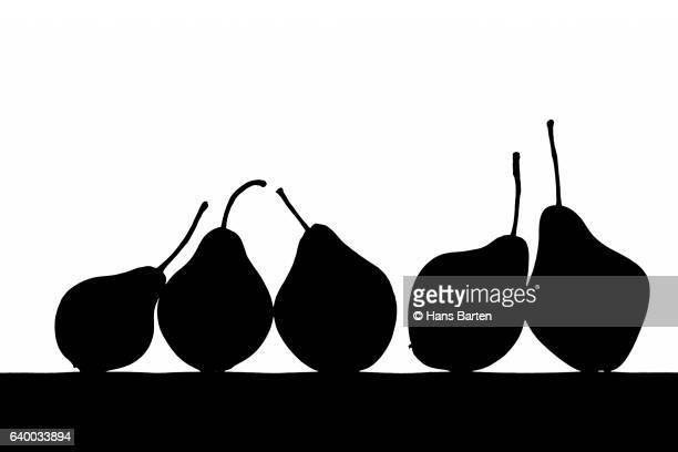 silhoutte pear