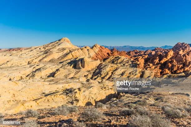 Silica Dome and Fire Canyon in the Valley of Fire
