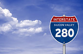 Silicon Valley Interstate road sign
