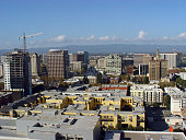 Silicon Valley's capital city San Jose California as seen in this aerial photo is undergoing an urban development revolution calculated to keep it as...
