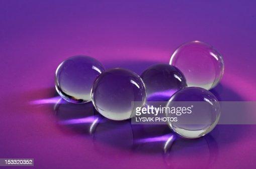 Silicone balls