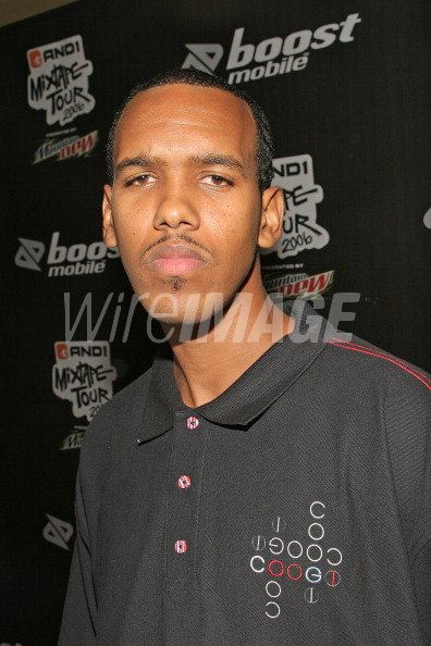 Silk during And1 Mixtape Tour Volume 9 Premiere at Manns