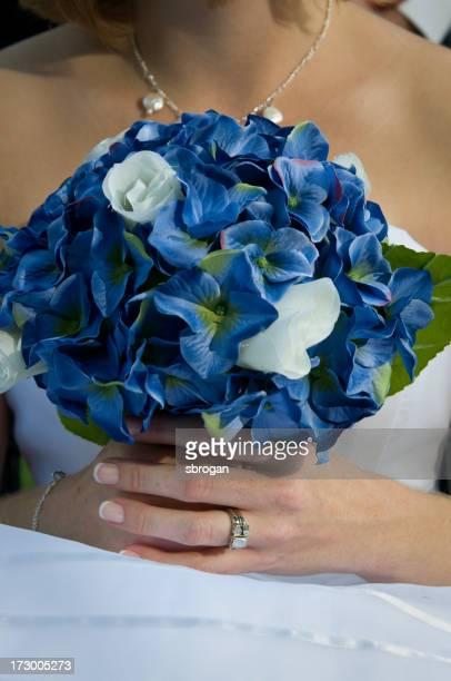 Fiore di seta bouquet da sposa