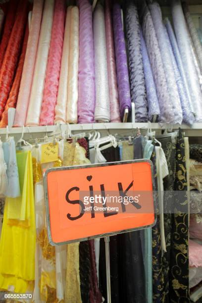 Silk for sale at a store in Miami