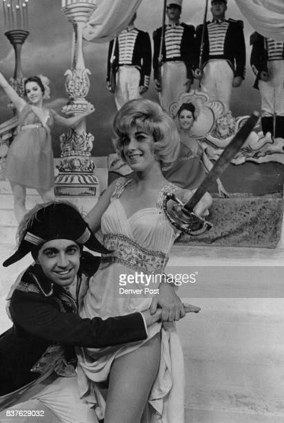 MAY 1 1967 MAY 11 1967 'Silk Stocking' Number Miki Jupiter and Paul Walker as Napoleon act in a show within a show in this scene from 'Silk...