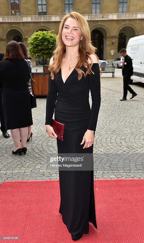 Silke Popp attend the Bernhard Wicki Award (Friedenspreis des Deutschen Films) during the Munich Film Festival 2016 at Cuvilles Theatre on June 30, 2016 in Munich, Germany.