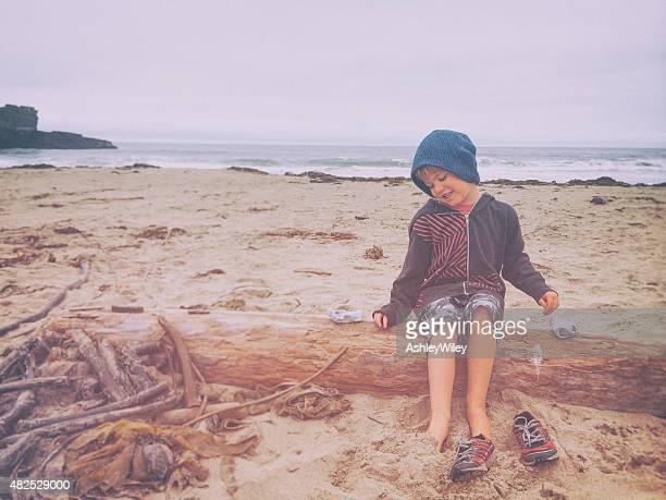 Silly beach boy