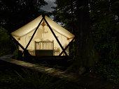 Camping, resort