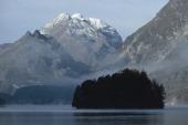 Sils Maria lake Upper Engadin Canton of Grisons Switzerland