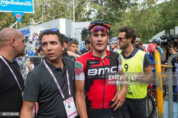 Silvan Dillier wins completes the sixth stage of the Giro d'Italia Tour of Italy cycling race from Reggio Calabria to Terme Luigiane