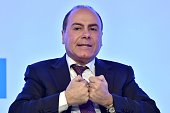Silvan Shalom Chief Israeli Negotiator and Israel's Vice Prime Minister and Minister of Interior attends the Mediterranean Dialogues a threeday...