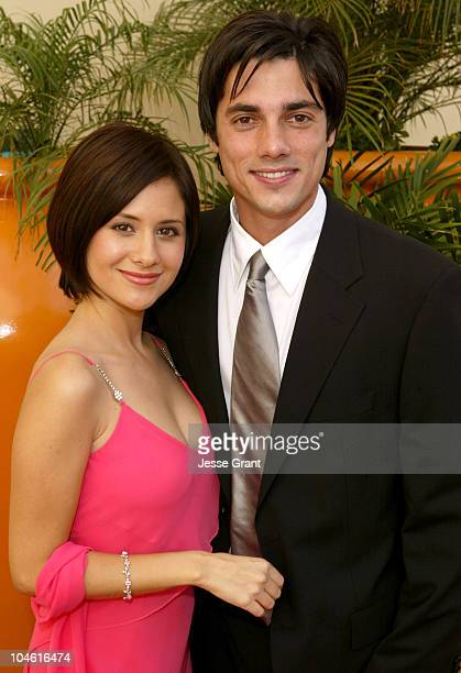 Silvana Arias and Jorge Alberti during 31st Annual Daytime Emmy Awards Creative Arts Presentation Arrivals at Grand Ballroom at Hollywood and...
