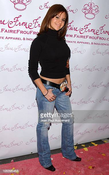 Silvana Arias during Faire Frou Frou Grand Opening Celebration Arrivals at Faire Frou Frou Boutique in Studio City California United States