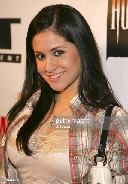 Silvana Arias during 'Masters of Horror' Season 2 Hollywood Launch Party at The Ivar in Hollywood California United States