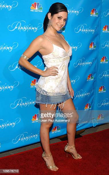 Silvana Arias during NBC's 'Passions' 7th Season KickOff Party at Universal Citywalk in Universal City California United States