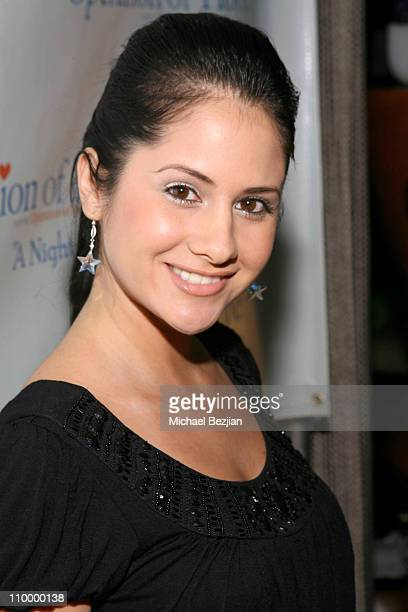 Silvana Arias during Operation of Hope A Night of Smiles November 19 2006 at The W Hotel in Westwood California United States