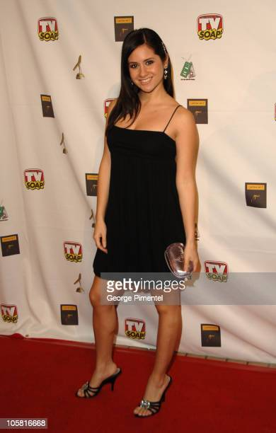 Silvana Arias during TV Soap's 4th Golden Boomerang Awards at Four Seasons Hotel in Los Angeles California United States