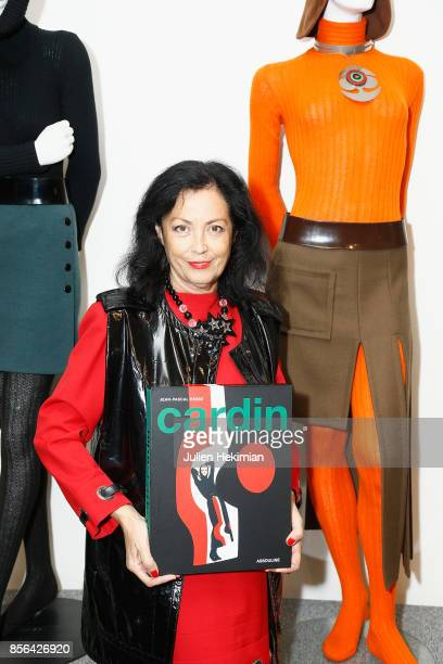 Silvana Laurenz attends the 'Pierre Cardin' By JeanPascal Hesse Book Signing At Pierre Cardin Museum as part of the Paris Fashion Week Womenswear...