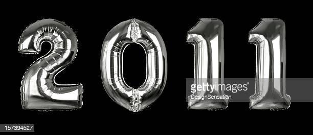 Silver 2011 balões (linhas de recorte, XXL