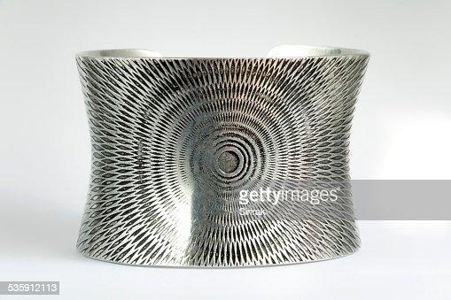 Pulseira de Prata : Foto de stock
