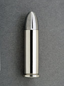 Silver bullet (.38 caliber), close-up