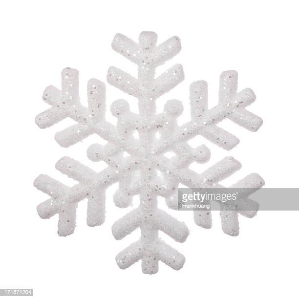 Silver Christmas Snowflakes