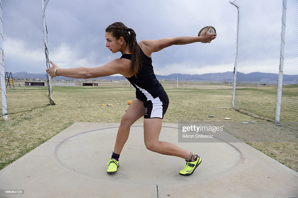 Silver Creek High School senior Valarie Allman is among the nation's top discus throwers. Allman will attend Stanford in the fall.