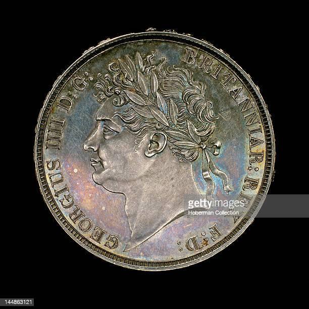 Silver crown England George IV