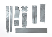 Silver Duck Tape Textile, Duct Tape, Adhesive Tape