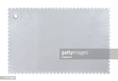 Silver Fabric Swatch textured background