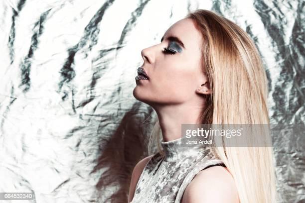 Silver Fashion Metallic Fashion Future Fashion