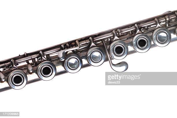 Flûte en argent