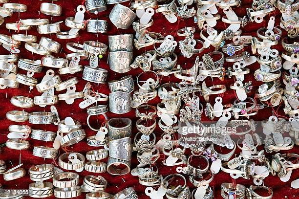 Silver jewelry for sale by the famous Valenciana Silver Mine, Mexico