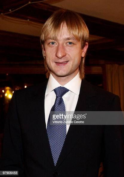 Silver Medalist Evgeni Plushenko attends the 5th World Stars Ski Event held at Grand Hotel Sestriere on March 20 2010 in Turin Italy