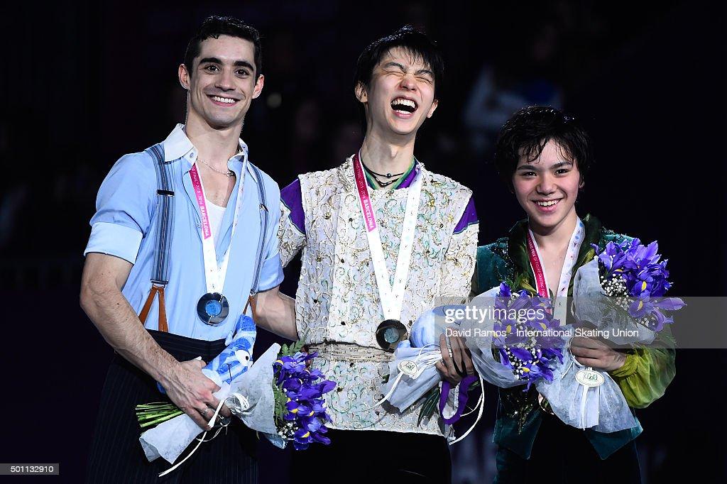 ISU Junior & Senior Grand Prix of Figure Skating Final 2015/2016 Final Barcelona - Day 3