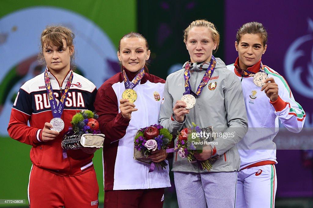 Wrestling Day 3: Baku 2015 - 1st European Games