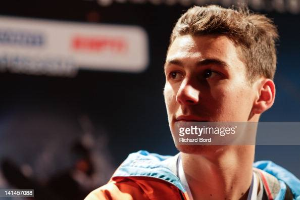 ... Silver medalist <b>Thomas Krief</b> from France attends the press conference ... - silver-medalist-thomas-krief-from-france-attends-the-press-conference-picture-id141457088?s=594x594