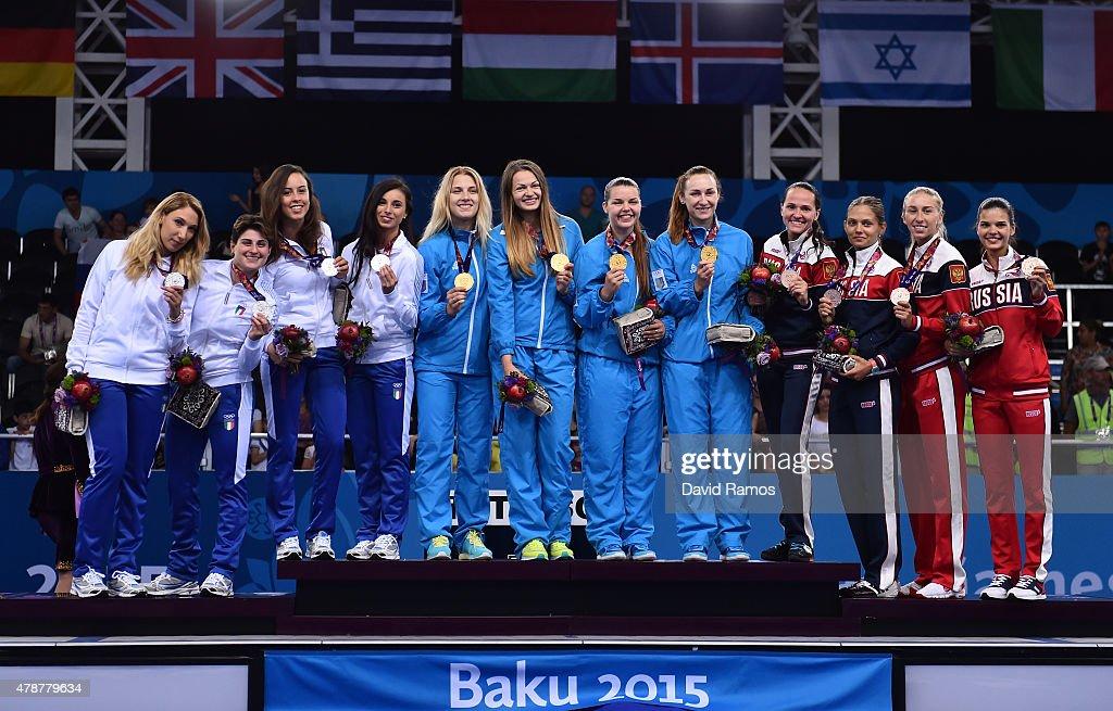 Fencing Day 15: Baku 2015 - 1st European Games