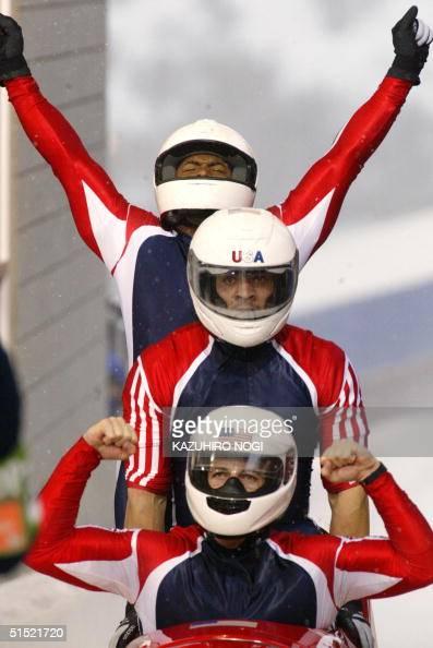 Winter Olympics, USA pilot Todd Hays and brakeman Garrett ...  |Garrett Hines Olympics